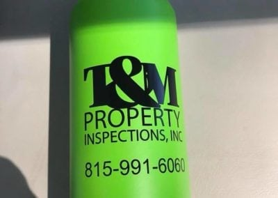 T&M Properties Water Bottles