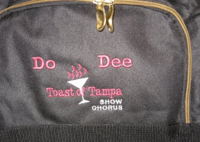 Do and Dee's Toast of Tampa Make-up Bag